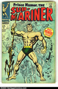 Silver Age (1956-1969):Superhero, The Sub-Mariner #1 (Marvel, 1968) Condition: VF/NM 9.0. This issue features the origin of the Sub-Mariner in a story continu...