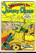 Golden Age (1938-1955):Superhero, Superman's Pal Jimmy Olsen #2 (DC, 1954) Condition: GD-. Impossible to find in any grade. Overstreet 2003 GD 2.0 value = $12...