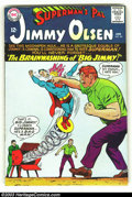 Silver Age (1956-1969):Superhero, Superman's Pal Jimmy Olsen Group (DC, 1960s) Condition: AverageVG+. Nice set of Jimmys; Issues #90-94, and #96-99. Overstre...(Total: 9 Comic Books Item)