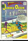 Silver Age (1956-1969):Superhero, Superman's Pal Jimmy Olsen Group (DC, 1960s) Condition: AverageGD/VG. Large group lot containing issues 62, 63, 73, 75, 76,...(Total: 13 Comic Books Item)