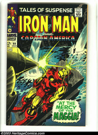 Tales of Suspense #99 (Marvel, 1968) Condition: VF+. Last issue. Extremely high-grade Silver Age Marvel. Overstreet 2003...