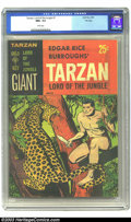 Pulps:Adventure, Tarzan Lord of the Jungle File Copy (Gold Key) #1 (Gold Key, 1965) CGC NM+ 9.6 White pages. Overstreet 2003 NM 9.4 value = $...