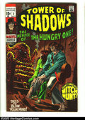 Silver Age (1956-1969):Horror, Tower of Shadows #2 (Marvel, 1969) Condition: VF. Neal Adams horrorartwork. Overstreet 2003 VF 8.0 value = $24....