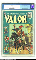 Golden Age (1938-1955):Adventure, Valor #4 (EC, 1955) CGC VF/NM 9.0 Off-white to white pages. Krigstein, Crandall and Ingels art. Overstreet 2003 VF/NM 9.0 va...