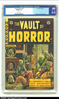 Golden Age (1938-1955):Horror, Vault of Horror #29 (EC, 1953) CGC VF/NM 9.0 Off-white pages.Ingels, Kamen, Davis and Craig art. Overstreet 2003 VF/NM 9.0 ...