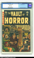 Golden Age (1938-1955):Horror, Vault of Horror #30 (EC, 1953) CGC VF+ 8.5 Off-white to whitepages. Ingels, Evans, Davis and Craig art. Overstreet 2003 VF ...