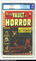 Golden Age (1938-1955):Horror, Vault of Horror #31 (EC, 1953) CGC VF 8.0 Off-white to white pages.Ray Bradbury biography; Ingels, Wood, Davis and Craig ar...