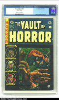 Golden Age (1938-1955):Horror, Vault of Horror #34 (EC, 1954) CGC FN/VF 7.0 Off-white to whitepages. Ingels, Crandall and Craig art. Overstreet 2003 FN 6....
