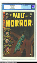 Golden Age (1938-1955):Horror, Vault of Horror #37 (EC, 1954) CGC FN/VF 7.0 Off-white pages. Firstappearance of Drusilla; Ingels, Williamson and Davis art...