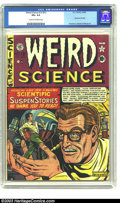 Golden Age (1938-1955):Science Fiction, Weird Science 12 (#1) (EC, 1950) CGC VG+ 4.5 Cream to off-whitepages. First issue of this title; Kurtzman, Kamen and Wood a...
