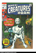 Bronze Age (1970-1979):Horror, Where Creatures Roam Group (Marvel, early 1970s) Condition: AverageVF 8.0. Three issues of Where Creatures Roam, issue #2, ... (Total:3 Comic Books Item)