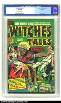 Golden Age (1938-1955):Horror, Witches Tales #11 File copy (Harvey, 1952) CGC FN+ 6.5 Cream tooff-white pages. Bob Powell art. Overstreet 2003 FN 6.0 valu...