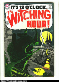 Witching Hour #1 (DC, 1969) Condition: VF+. Alex Toth and Neal Adams artwork. Overstreet 2003 VF 8.0 value = $84