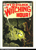 Silver Age (1956-1969):Horror, Witching Hour #3 (DC, 1969) Condition: VF/NM. Beautiful artwork byAlex Toth and Berni Wrightson. Overstreet 2003 VF/NM 9.0 ...