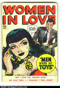 Golden Age (1938-1955):Romance, Women in Love #4 (Fox Features Syndicate, 1950) Condition: VG. Classic Fox Romance. Wally Wood artwork. Overstreet 2003 VG 4...