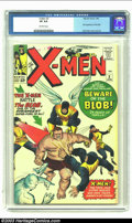 Silver Age (1956-1969):Superhero, X-Men #3 (Marvel, 1964) CGC VF 8.0 Off-white pages. First appearance of the Blob, Jack Kirby cover and art. Overstreet 2003 ...