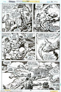 Original Comic Art:Panel Pages, John Buscema and Ernie Chan - Original Art for Conan the Barbarian #90, page 16 (Marvel, 1978). The Giant-Kings begin to re-...