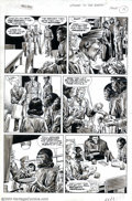 Original Comic Art:Panel Pages, Rico Rival - Original Art for Planet of the Apes Magazine #12, Story page 15 (Marvel, 1975)....