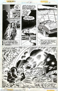 Original Comic Art:Panel Pages, John Romita, Jr. - Original Art for Iron Man #115, page 17 (Marvel, 1978). The Titanium Man vows vengeance on ol' Shellhead ...