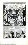 """Original Comic Art:Panel Pages, Manny Stallman - Original Art for Witches Tales #12, Complete 6-page Story, """"The Shower of Death"""" (Harvey, 1952). Manny Stal..."""