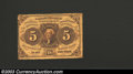 Fractional Currency:First Issue, First Issue 5c, Fr-1228, Crisp Uncirculated. This is the ...