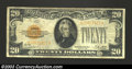 Small Size:Gold Certificates, 1928 $20 Gold Certificate, Fr-2402, Fine-Very Fine. ...