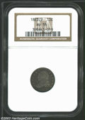Bust Dimes: , 1823/2 Small Es AU55 NGC. ...