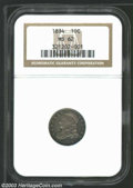 Bust Dimes: , 1834 Small 4 MS62 NGC. ...