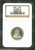 Proof Seated Quarters: , 1865 PR 64 NGC. The current Coin Dealer Newsletter (...