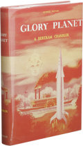 Books:First Editions, A. Bertram Chandler: Glory Planet. (New York: Avalon Books,1964), first edition, 190 pages, red cloth with black letter...
