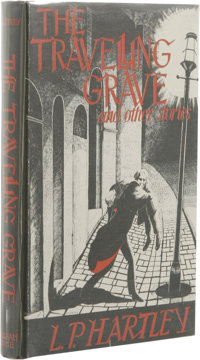 L. P. Hartley: The Travelling Grave and Other Stories. (Sauk City: Arkham House, 1948), first edition, 235 pages, dust j...