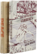 Books:First Editions, Two Gene Wolfe First Editions, including:. The Fifth Head ofCerberus. (New York: Charles Scribner's Sons, 1972), fi...(Total: 2 )