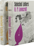 Books:First Editions, Two Books of Selected Letters of H.P. Lovecraft, including:.Selected Letters IV: 1932-1934 (Sauk City: Arkham House...(Total: 2 )