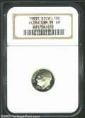 Proof Roosevelt Dimes: , 1993-S Silver PR 69 Deep Cameo NGC. ...