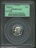 Proof Roosevelt Dimes: , 1994-S Silver PR 69 Deep Cameo PCGS. ...