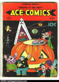 Golden Age (1938-1955):Cartoon Character, Ace Comics #7 (David McKay Publications, 1937) Condition: GD/VG. Barney Google and Snuffy Smith, the Katzenjammer Kids, Ripl...