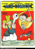 Golden Age (1938-1955):Cartoon Character, Ace Comics #13 (David McKay Publications, 1938) Condition: VG. The Phantom, Jungle Jim, Blondie, Ripley's Believe It or Not,...