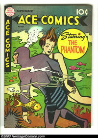Ace Comics #150 (David McKay Publications, 1949) Condition: FN/VF. The Phantom, Blondie, the Katzenjammer Kids, Jungle J...