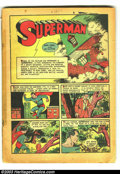 Golden Age (1938-1955):Superhero, Action Comics #16 (DC, 1939) Condition: coverless. Superman takes on gambling; Siegel and Shuster art. Overstreet 2003 GD 2....