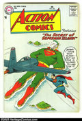 Silver Age (1956-1969):Superhero, Action Comics #224 (DC, 1957) Condition: FN. Classic cover! Rarely seen issue, and this one has nice pages! Overstreet 2003 ...