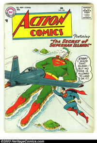 Action Comics #224 (DC, 1957) Condition: FN. Classic cover! Rarely seen issue, and this one has nice pages! Overstreet 2...