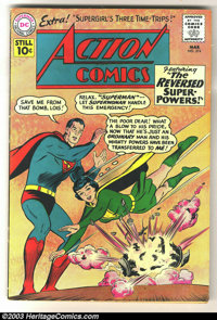 Action Comics #274 (DC, 1961) Condition: FN. Fantastic Superman and Superwoman cover. Overstreet 2003 FN 6.0 value = $45...