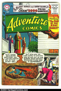 Adventure Comics #229 (DC, 1956) Condition: FN/VF. Fantastic copy with off-white pages. First Silver Age issue. Overstre...