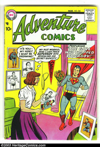 Adventure Comics #246 (DC, 1958) Condition: FN-. Nice bright cover on this Superboy classic from the dawn of the Silver...