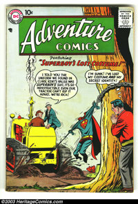 Adventure Comics #249 (DC, 1958) Condition: VG/FN. Superboy and Green Arrow stories. Overstreet 2003 VG 4.0 value = $50;...