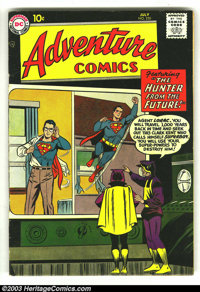 Adventure Comics #250 (DC, 1958) Condition: FN. Great Superboy cover. Overstreet 2003 FN 6.0 value = $75