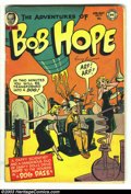 Golden Age (1938-1955):Humor, The Adventures of Bob Hope #14 (DC, 1952) Condition: VG. Overstreet 2003 VG 4.0 value = $52....