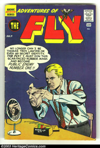 Adventures of the Fly #7 and #10 (Archie, 1960) Condition: VG+. Issue #7 contains the first Silver Age appearance of the...