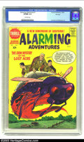 Silver Age (1956-1969):Science Fiction, Alarming Adventures #1 File Copy (Harvey, 1962) CGC VF/NM 9.0 Off-white pages. Severin cover. Crandall, Williamson, and Tusk...