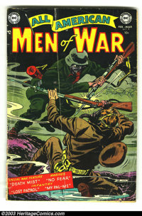 All American Men of War #9 and #19 (DC, 1960s) Condition: GD. Overstreet 2003 value for group = $56. ... (Total: 2 Comic...
